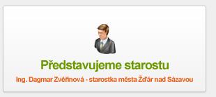 Ing. Dagmar Zvěřinová - starostka města Žďár nad Sázavou